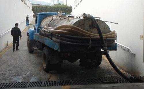 东莞的小区化粪池疏通清理方法
