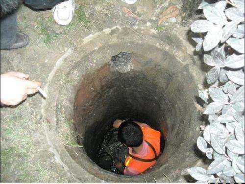 物业化粪池疏通清理方法