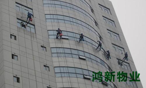 高楼清洗外墙的服务