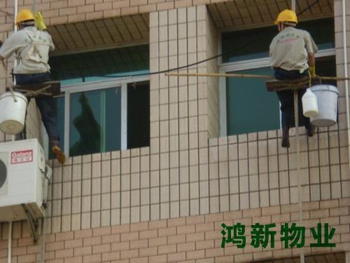 高楼外墙玻璃清洗公司