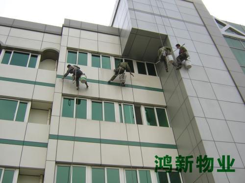 高楼外墙瓷砖清洗收费
