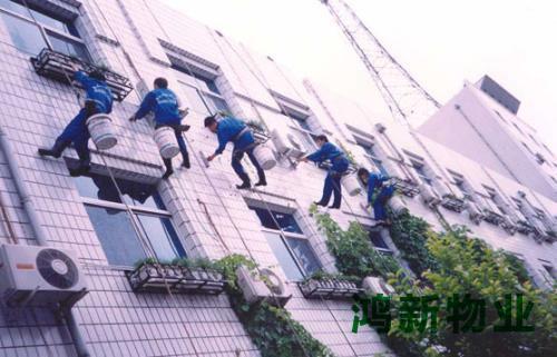 东莞大厦外墙清洗翻新