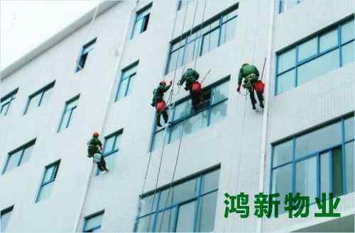 蜘蛛人外墙玻璃清洁多少钱