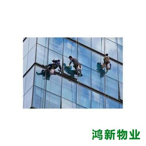 东莞的高空外墙清洁的