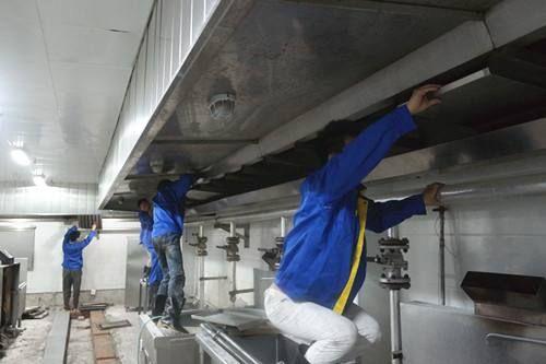 东莞专业专业油烟机清洗公司