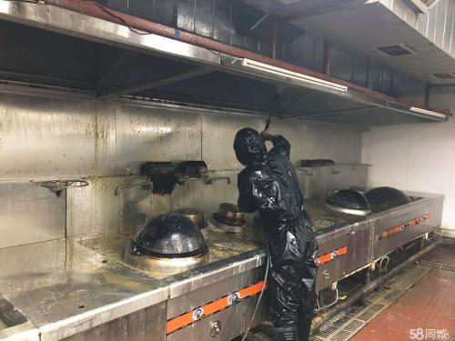 专业东莞饭店油烟机油污清洗多少钱